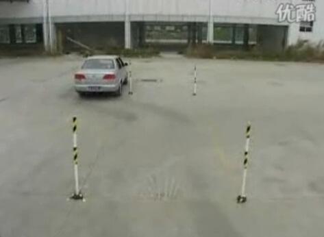侧方停车教学目标(视频)