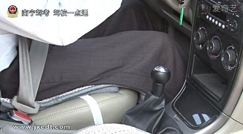 加减挡位操作、靠边停车技巧(视频)