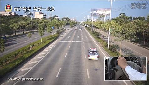 超车、通过公共汽车站要点(视频)