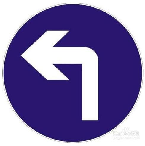 直行通过路口、路口左转弯、路口右转弯
