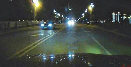 夜间汽车驾驶