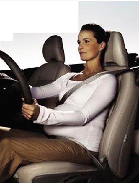 孕妇学开车