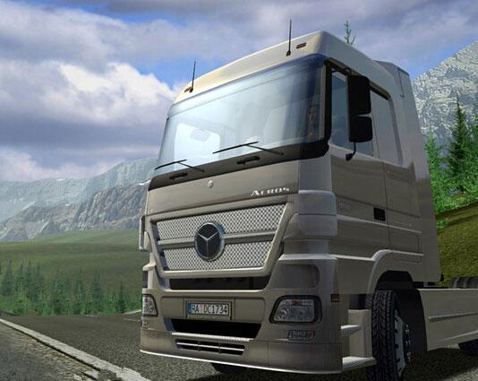 欧洲卡车模拟游戏介绍