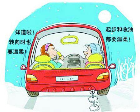 冬季驾车指南 小心雾、雪、风