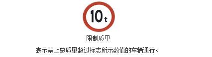 限制质量标志