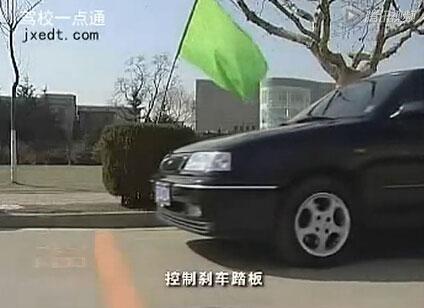 停车、加速、减速、直线倒车