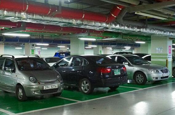 停车场停车