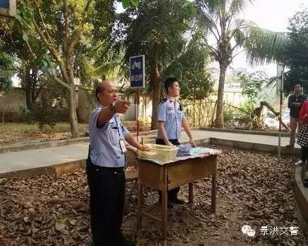 景洪交警大队车管所加强摩托车考试工作--(2)