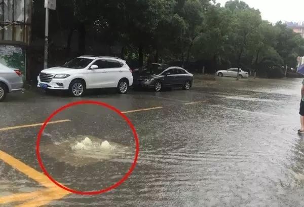 在大暴雨中驾驶人、行人需要注意的安全技巧 (1)
