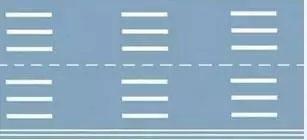 第三种标线车距确认线