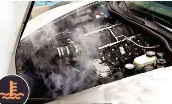 高温天气汽车发动机高温预警解决方法