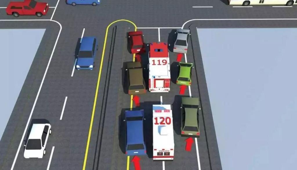 消防车闯红灯与私家车相撞交警会怎么判?不避让消防车会被扣分